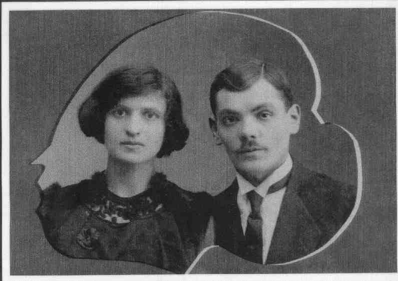 Semyon Ionov Ossowski and his wife